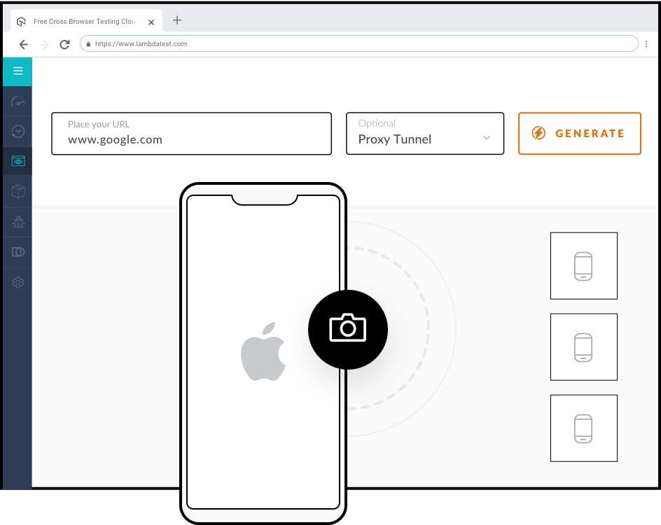 Cross Browser Testing on iOS Mobile Browsers