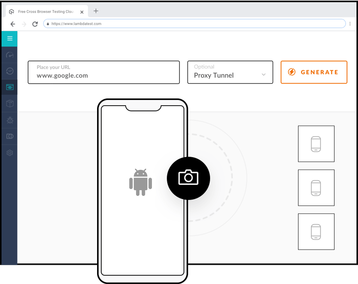 Cross Browser Testing on Android Mobile Browsers